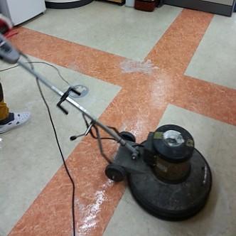 바닥 청소