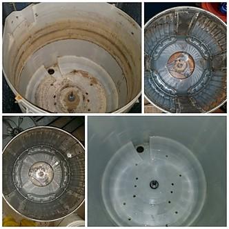 통돌이 세탁기 청소
