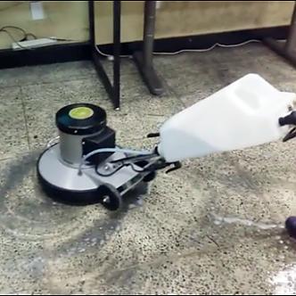 학원 바닥청소