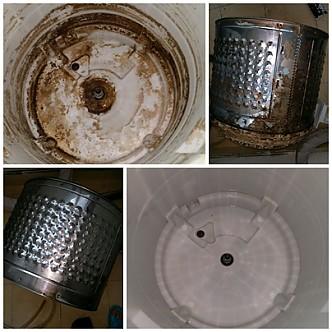 드럼 세탁기 청소