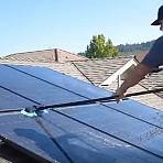 태양광판넬 청소