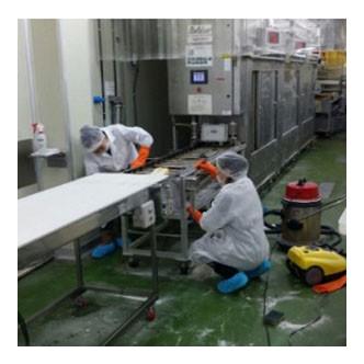 식품공장위생청소